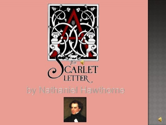 Hawthorne Context In Chapter  The Scarlet Letter