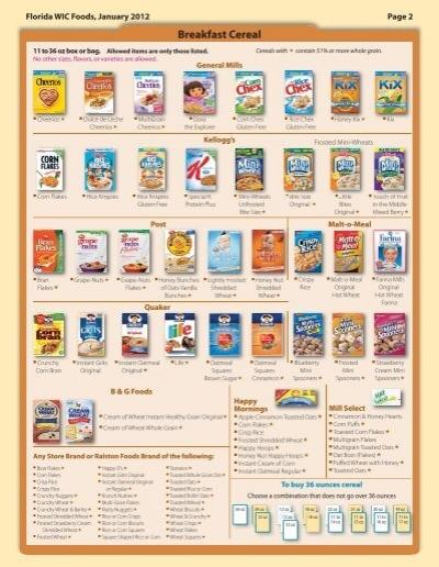 List Of Whole Grain Foods Pdf