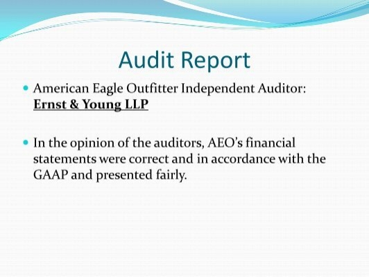 financial analysis of urban outfitters and american eagle Refer to the financial statements of american eagle (appendix b) and urban outfitters (appendix c) and the industry ratio report (appendix d) at the end of this book .