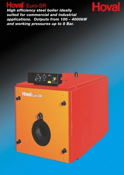 High efficiency steel boiler ideally suited for commercial - CMS