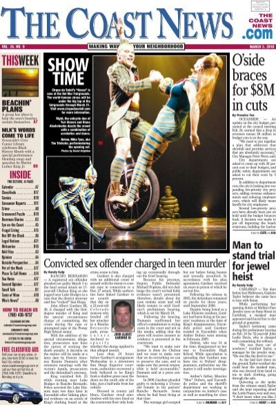 The Coast News Page 1
