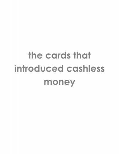the cards that introduced cashless money - Dutch-Bangla Bank ...