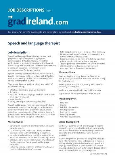 speech on career planning