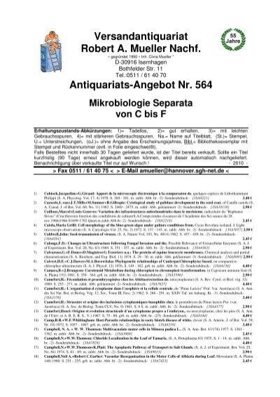 Versandantiquariat Robert A. Mueller Nachf ... - Antikbuch24