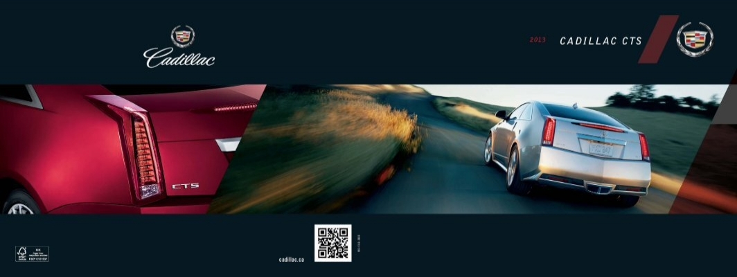 2013 CTS Coupe FeATuReS & opTIoNS - Dealer