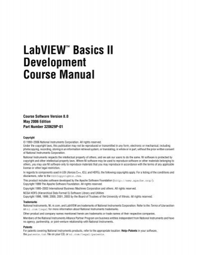 labview intermediate i course manual pdf