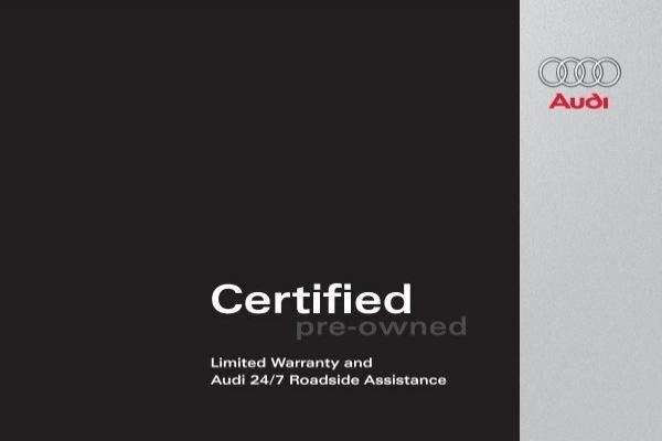 Limited Warranty And Audi Roadside Audi Of America - Audi roadside service