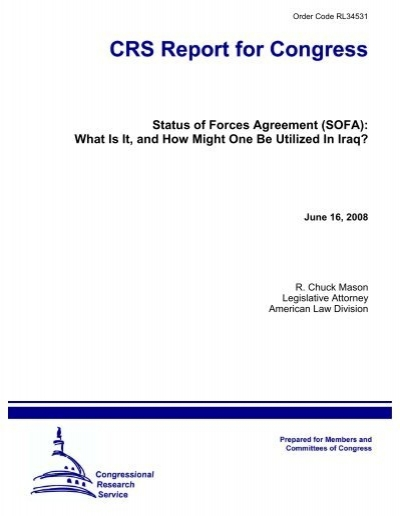 Status of Forces Agreement SOFA University of Maryland  : 18820012 from www.yumpu.com size 400 x 516 jpeg 59kB