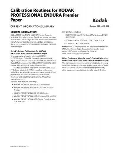 where can i buy kodak professional endura paper
