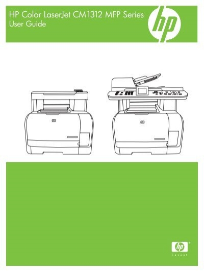 Hp Color Laserjet Cm1312 Mfp Series User Guide Ftp Directory