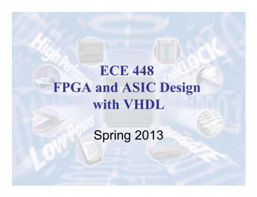 vhdl based thesis The aim of my dissertation thesis is to provide the process of mapping from  abstract language  network device is based on predefined interfaces and  modules which are connected to a high-  vhdl and tested in real hardware  environment.