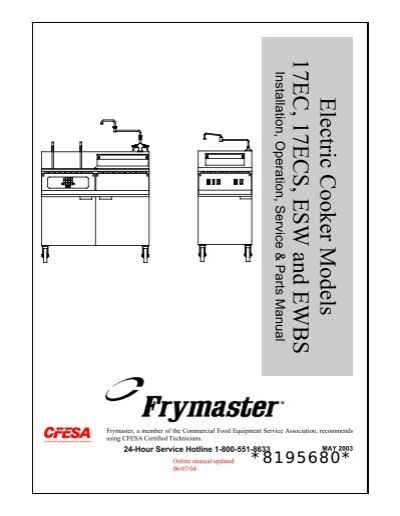 Stainless Steel Frymaster 9109527 Handle Drain Valve