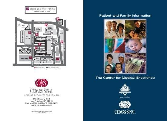 Cedars Sinai Parking Map