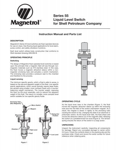 Magnetrol Level Switch Wiring Diagram