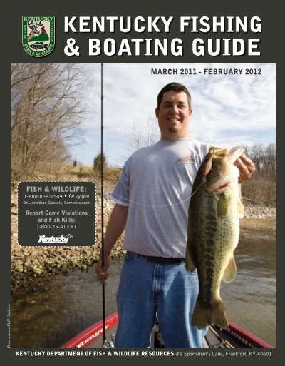 Boating guide kentucky department of fish and wildlife for Kentucky fish and game
