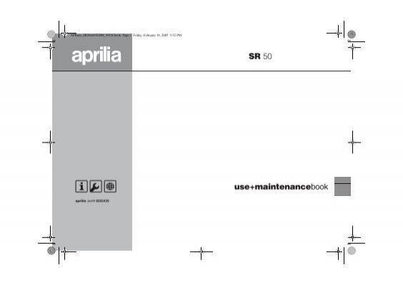 [DIAGRAM_3NM]  APRum_SR | Aprilia Sr 50 2005 Wiring Diagram |  | Yumpu