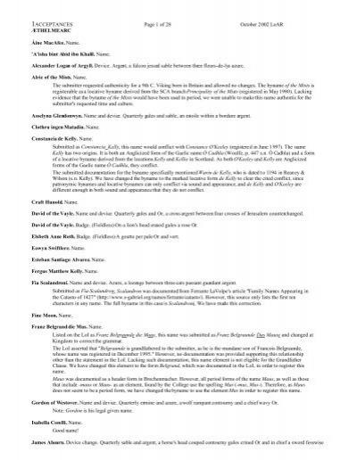 in PDF - SCA Heraldry - Society for Creative Anachronism