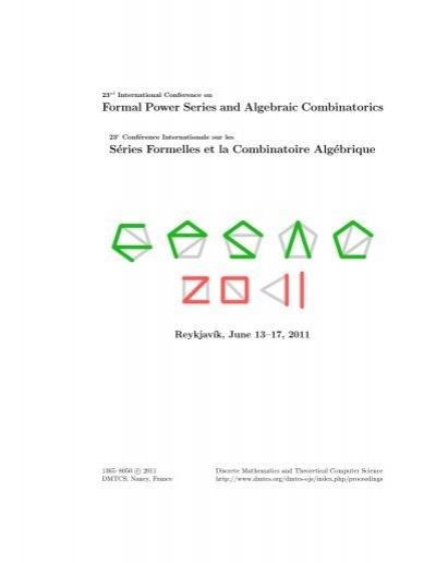 One Large Pdf File The Strathclyde Combinatorics Group University