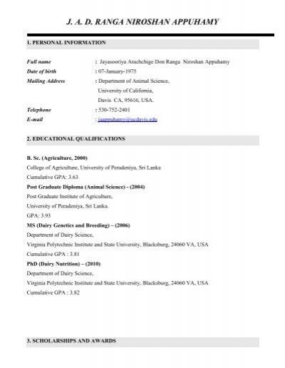 animal science scholarships
