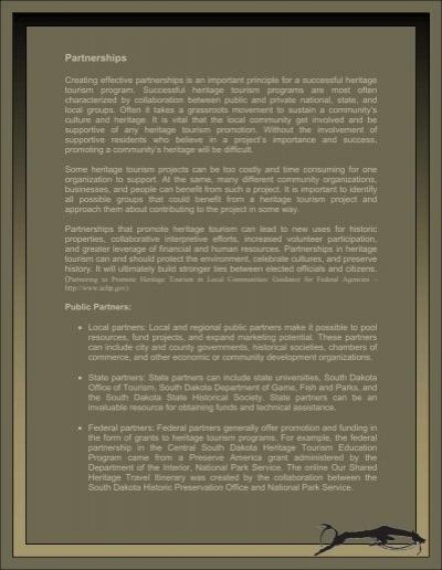 Partnerships - South Dakota State Historical Society