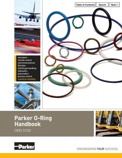 O Ring Handbook Parker Seals