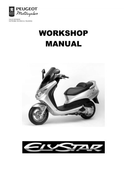 peugeot workshop manual elystar 756445 scootergrisen rh yumpu com peugeot elyseo 125 manual peugeot elyseo 125 service manual