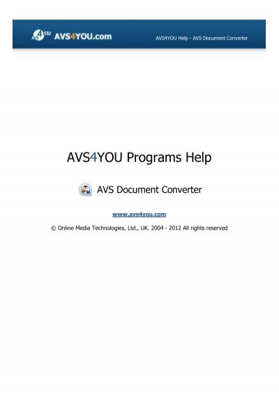 avs4you download manager