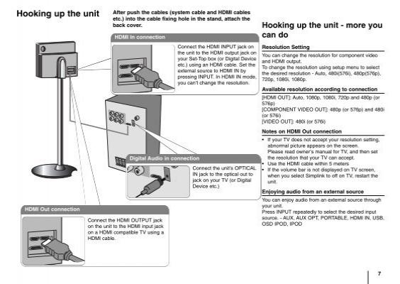 Lg ht953tv Manual