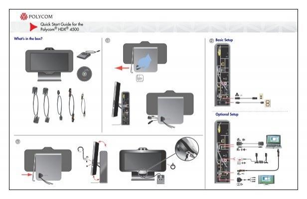quick start guide for the polycom hdx 4500 rh yumpu com Polycom HDX 8000 Polycom HDX 7000 Cable Pinouts