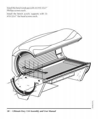 ovation 134 tanning bed manual