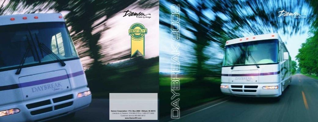 damon daybreak wiring diagram damon corporation     p o box 2888     elkhart  in thor motor coach  damon corporation     p o box 2888