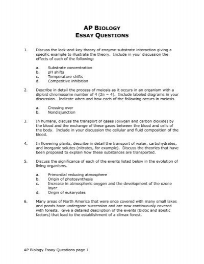 Ap Biology Essay Questions Jpg Persuasive Essays Examples For High School also Thesis Statement Examples For Persuasive Essays  Examples Thesis Statements Essays