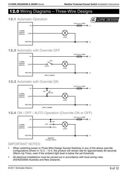 Clipsal sunset switch wiring diagram electrical work wiring diagram 31vssr rh yumpu com 4 way switch wiring diagram 2 way switch wiring diagram asfbconference2016 Gallery