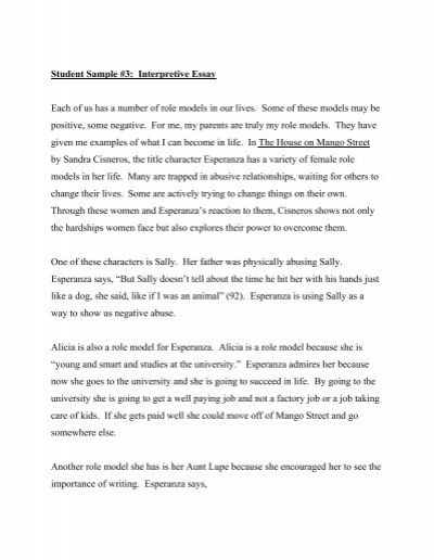 the house on mango street and a dream deferred essay It is the dream that someday everything will be as it should be essay by nina laney the house on mango street is filled with examples of hope.