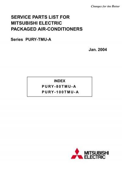 pury 80 100tmu a parts mylinkdrive rh yumpu com mitsubishi puy-a18nha4 manual