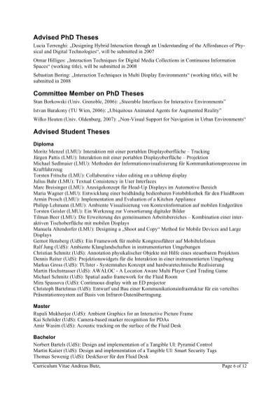 ... essay nursing otmar hilliges phd thesis dissertation advisor cornell