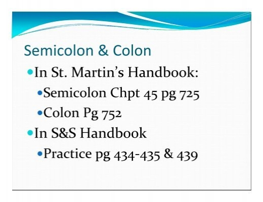 And Colon Worksheet - Delibertad