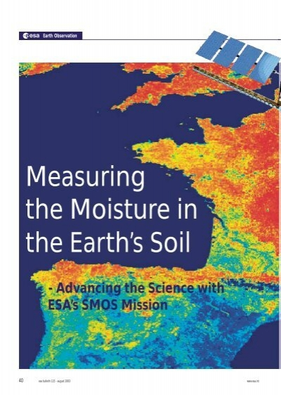 Measuring the moisture in the earth 39 s soil cesbio for Earth or soil