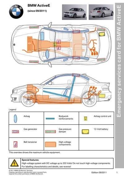 bmw activee emergency responder guide electric vehicle safety rh yumpu com Emergency Responder Logo Emergency Responders Clip Art