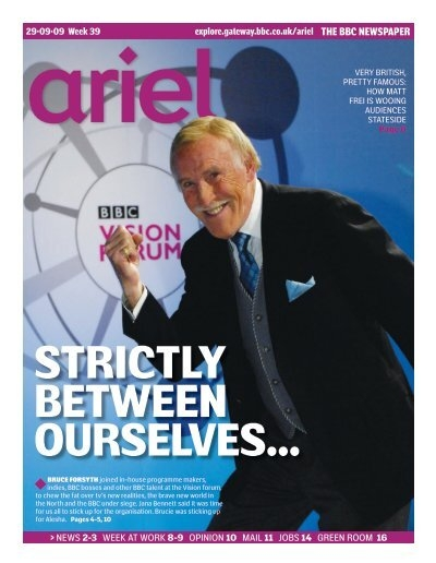 to see an electronic edition of this week's Ariel
