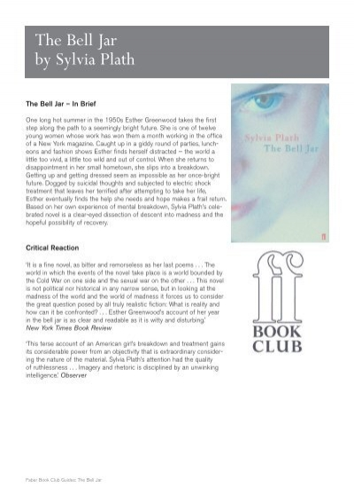 an evaluation of sylvia plaths the bell jar