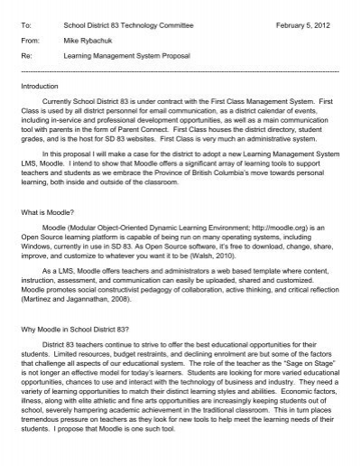 Learning Management System Proposal Ubc Blogs