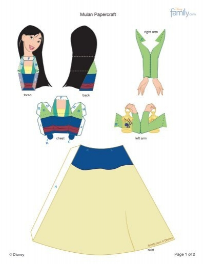 Family Crafts Paper Dolls