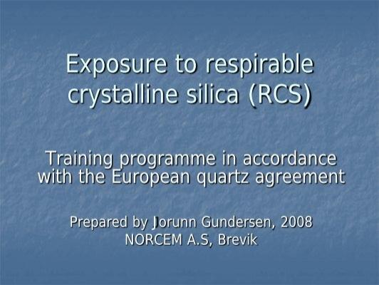 respirable crystalline federal register - 532×400