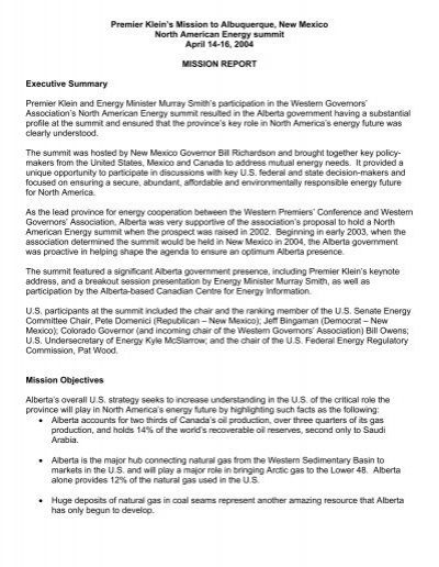 Memo Format From Minister To Premier - Alberta Ministry Of