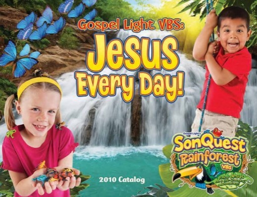 Gospel Light Vacation Bible School 2010 SonQuest Rainforest VBS .