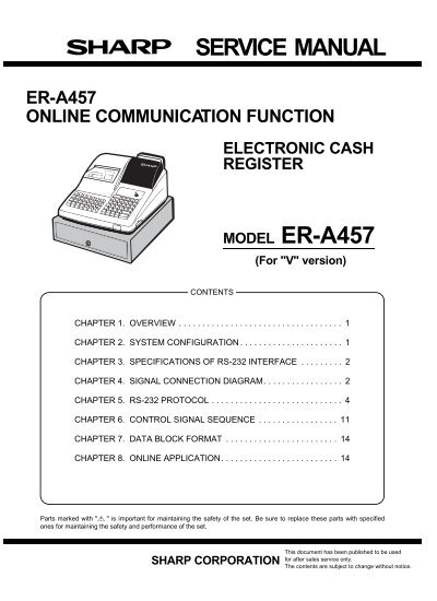 Service manual model er a457 digitron ist sciox Choice Image