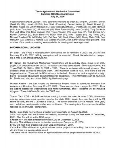2006 july instructional materials service tamu home
