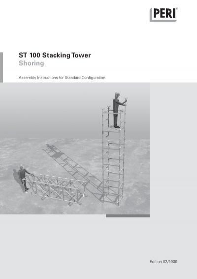 St 100 Stacking Tower Shoring Peri