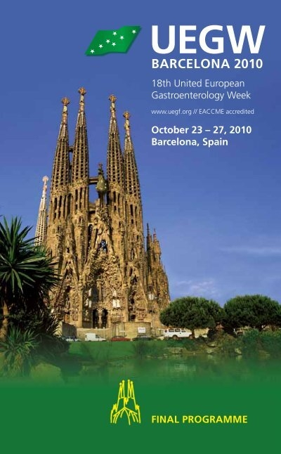 Barcelona 2010 Uegw 2010 United European Gastroenterology